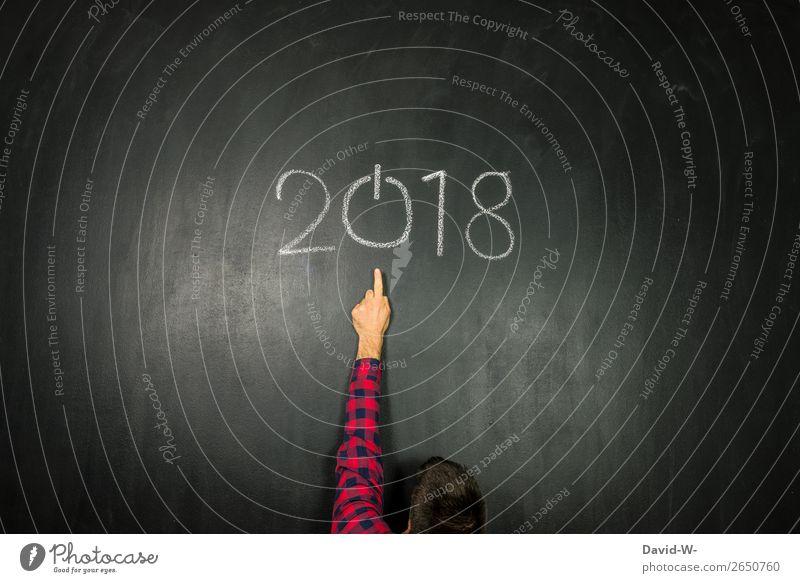 Das alte Jahr geht zu Ende elegant Stil Design Feste & Feiern Silvester u. Neujahr Bildung Studium Arbeit & Erwerbstätigkeit Wirtschaft Business maskulin