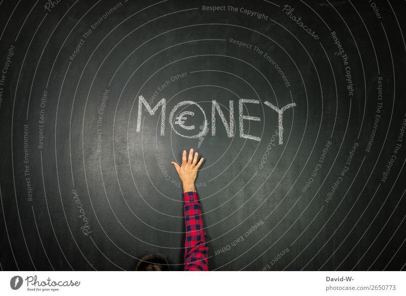 Geld elegant Stil Design Glück sparen Wirtschaft Handel Kapitalwirtschaft Börse Geldinstitut Business Karriere Erfolg Mensch maskulin Junger Mann Jugendliche