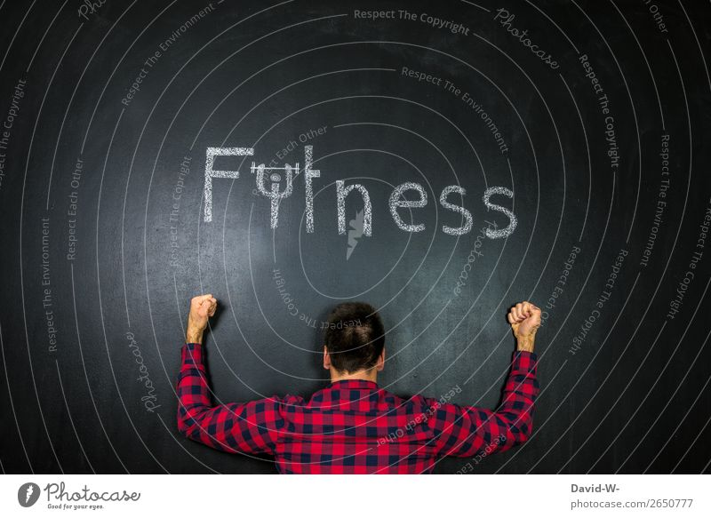 Vorsätze Mensch Jugendliche Gesunde Ernährung Mann Junger Mann Gesundheit Lifestyle Erwachsene Leben lustig Sport Kunst Freizeit & Hobby maskulin Kreativität