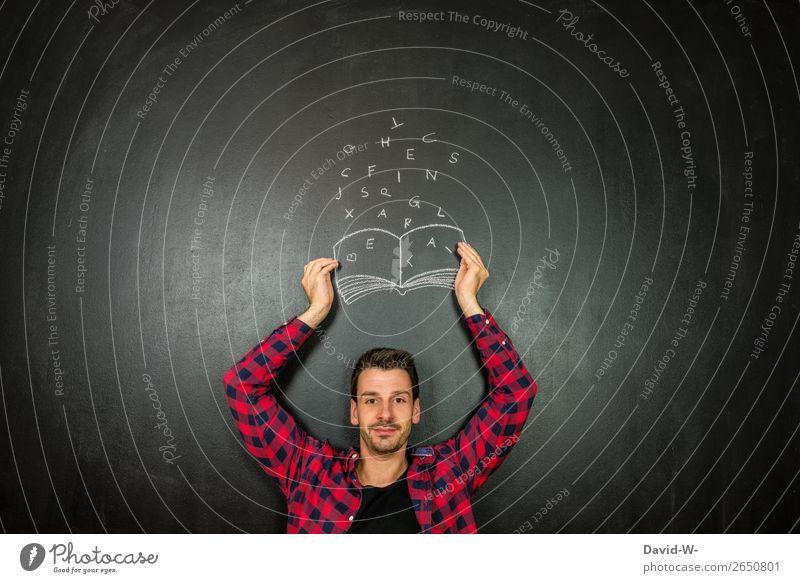 Autor Mensch Jugendliche Mann Junger Mann Freude Lifestyle Erwachsene Leben Stil Kunst Schule Denken Design Freizeit & Hobby maskulin Kultur