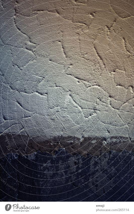 Raum frei alt blau Wand Mauer Fassade Beton Putz Betonwand Raufasertapete