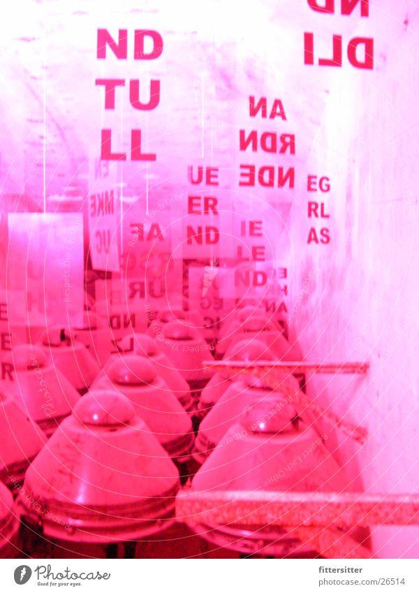 rotlicht Kunst Industrie Isolierung (Material) Isolatoren Rotstich