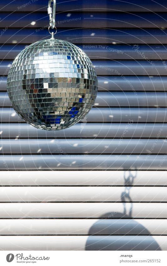 Disco Freude Party Stil Musik Linie Feste & Feiern Tanzen Geburtstag außergewöhnlich Design Lifestyle Streifen Disco Club Veranstaltung Diskjockey