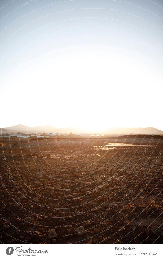 #AS# Weite Umwelt Natur Landschaft Klima Klimawandel ästhetisch Wärme Ferne Landschaftsformen Fuerteventura Farbfoto Gedeckte Farben Außenaufnahme