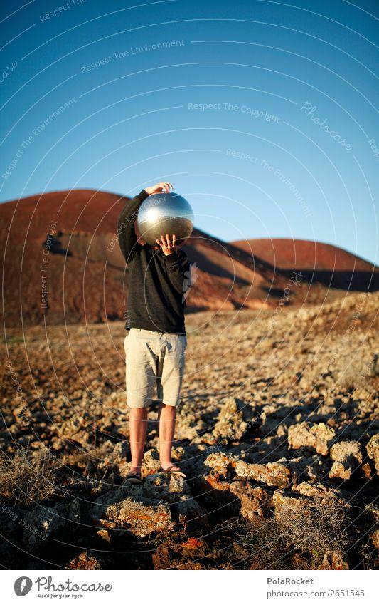 #AS# leaves me thinking Kunst Kunstwerk ästhetisch Mars Marslandschaft Marsianer Landschaft Helm Außerirdischer Denken dominant nachdenklich außerirdisch dumm