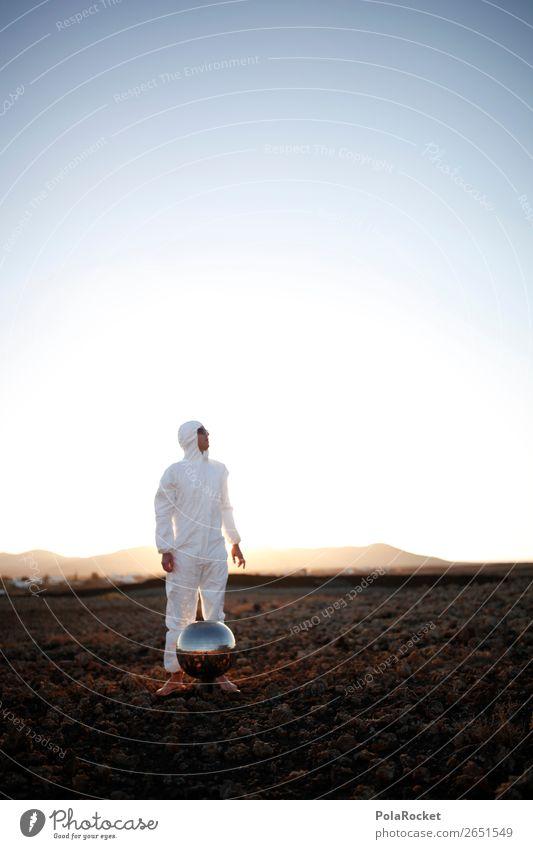 #AS# Wo ist der Bus? Mensch maskulin entdecken Kunst ästhetisch Mars Marslandschaft Marsianer Kostüm Karnevalskostüm Astronaut Astrofotografie Raumfahrthelm