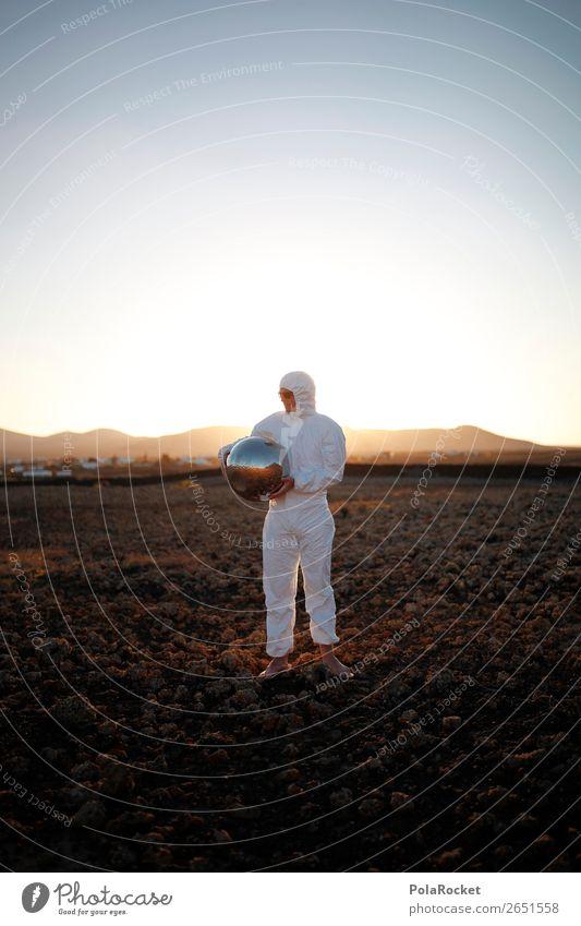 #AS# going home Kunst ästhetisch Außerirdischer außergewöhnlich außerirdisch außerorts Kostüm Karnevalskostüm verkleiden Mars Marslandschaft Marsianer Astronaut