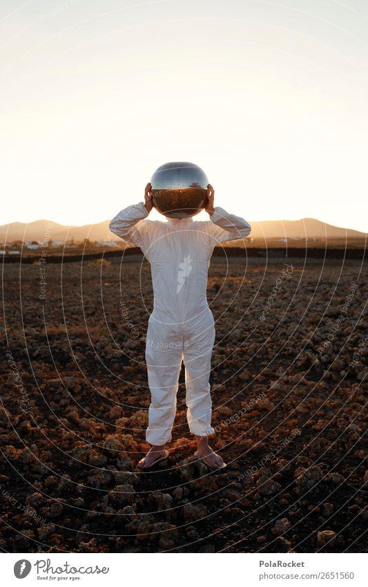 #AS# bereit! Kunst ästhetisch Helm Helmdach Astronaut Astronomie Astrologie Astrofotografie Kostüm Karnevalskostüm Mars Marslandschaft Marsianer verkleidet