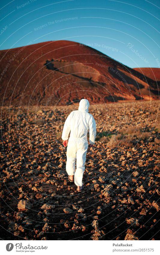 #AS# MoonWalker Mensch Landschaft Lifestyle Stil Design Freizeit & Hobby elegant ästhetisch Zukunft entdecken Futurismus exotisch Vulkan Entertainment