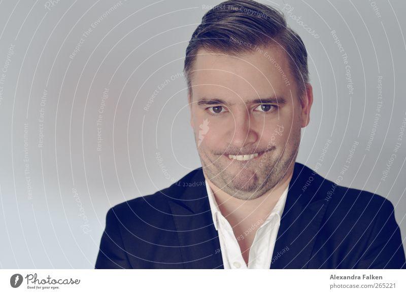 Hase im Frühling II. Geschäftsleute Mensch maskulin Mann Erwachsene Leben 1 30-45 Jahre Blick frech einzigartig Stimmung Freude Grimasse Gesichtsausdruck
