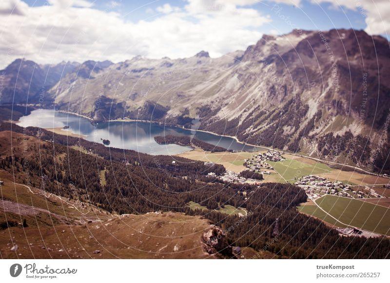 Tal des Sees Ferien & Urlaub & Reisen Tourismus Abenteuer Ferne Freiheit Sommer Sonne Berge u. Gebirge wandern Umwelt Natur Landschaft Pflanze Wasser Himmel