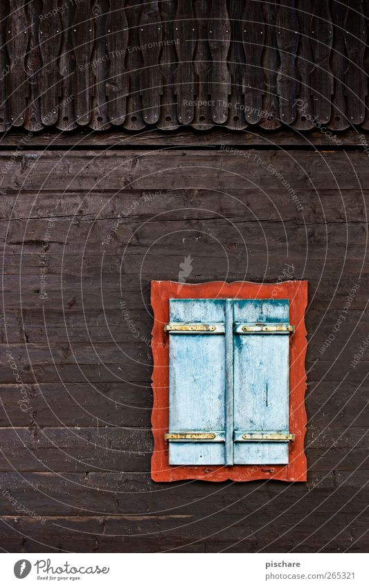 Fenster Wärme Holz braun Fassade Hütte