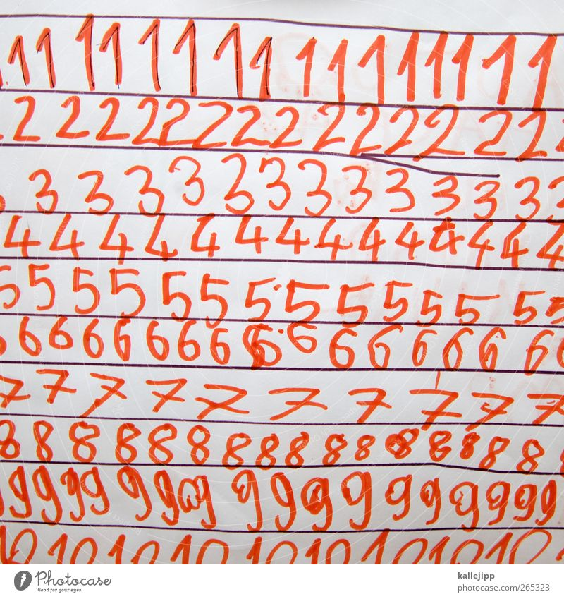 ff-lasse-righthand Kindererziehung Bildung Schule lernen Schulkind Schüler Kapitalwirtschaft schreiben Mathematik Ziffern & Zahlen schreibschrift üben 1 2 3 4 5