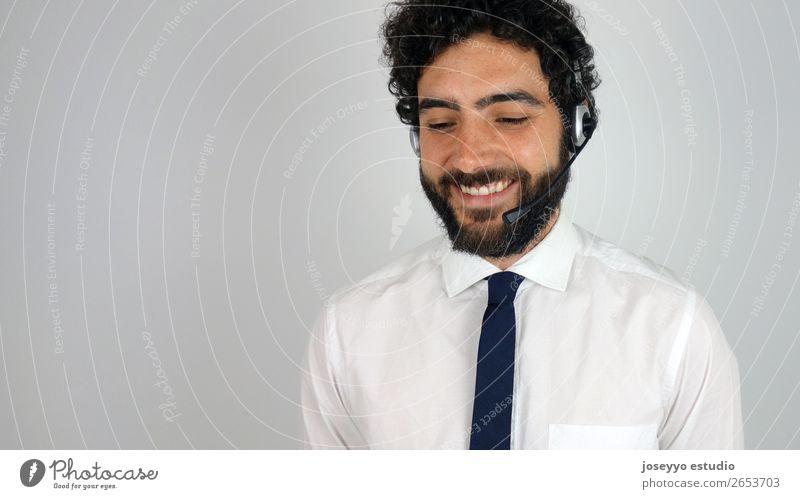 Praktischer Berater des Call Centers Agent Unterstützung Business Telefongespräch Zentrum Klient Mitteilung Kunde Zweifel Exekutive Kopfhörer Hilfsbereitschaft