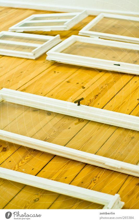 Windows Häusliches Leben Wohnung Raum Haus Bauwerk Gebäude Architektur Mauer Wand Fenster Arbeit & Erwerbstätigkeit liegen gut wallroth trocknen Maler lackieren