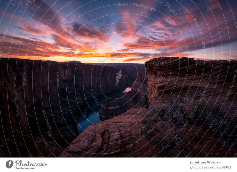 canyon Ferien & Urlaub & Reisen Tourismus Ausflug Abenteuer Ferne Freiheit Sommer Sonne Berge u. Gebirge wandern Natur Landschaft Erde Wasser Himmel Wolken