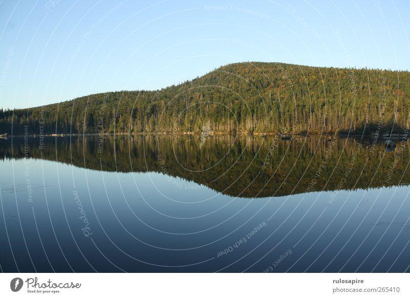 Appalachian Trail (untitled) #7 Natur blau Wasser grün Wald Umwelt Landschaft Herbst Berge u. Gebirge See braun Schwimmen & Baden Hügel Schönes Wetter Seeufer