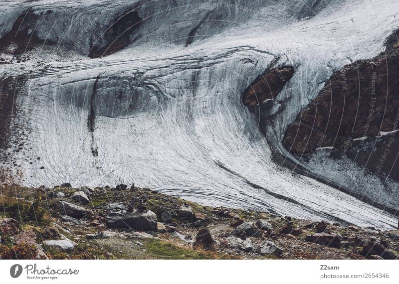 Rettenbachgletscher | AT Abenteuer wandern Natur Landschaft Eis Frost Felsen Alpen Berge u. Gebirge Gletscher natürlich Freizeit & Hobby kalt Klima nachhaltig