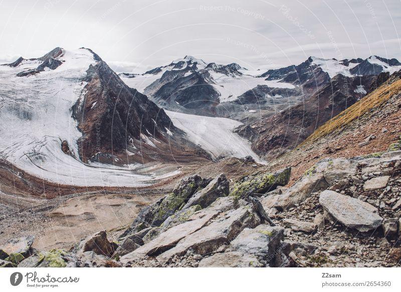 Braunschweiger Hütte | E5 Abenteuer wandern Umwelt Natur Landschaft Eis Frost Felsen Alpen Berge u. Gebirge Gipfel Gletscher gigantisch hoch natürlich