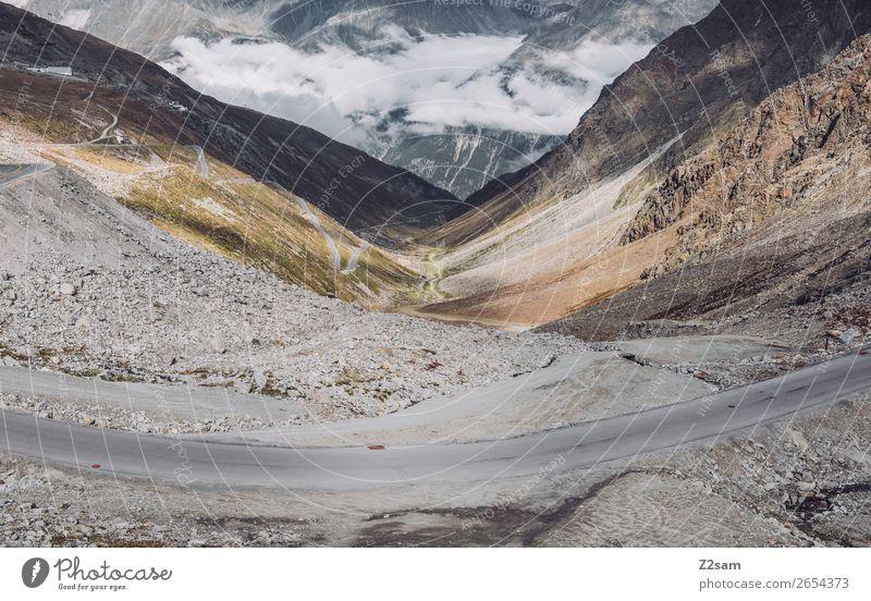 Rettenbachgletscher | Sölden Abenteuer wandern Natur Landschaft Himmel Wolken Alpen Berge u. Gebirge Gletscher Hochstraße gigantisch hoch Stadt Klima Umwelt