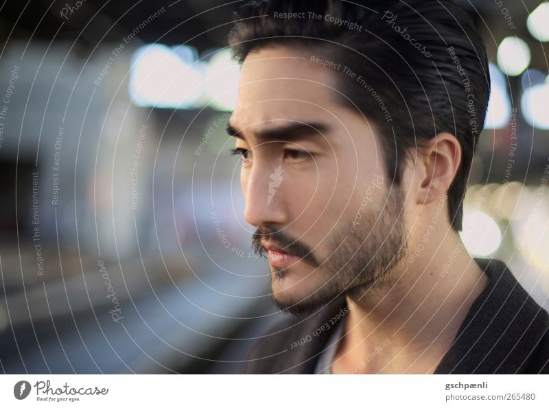 Love of my Life Mann Jugendliche schön ruhig Erwachsene Gesicht Auge Kopf Junger Mann natürlich elegant 18-30 Jahre Mund maskulin Nase trist