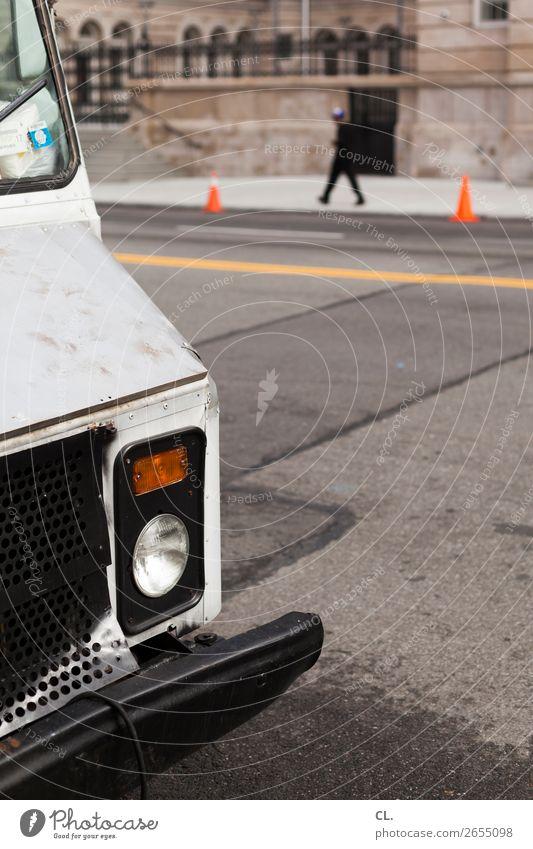 bus Mensch Erwachsene Leben 1 18-30 Jahre Jugendliche 30-45 Jahre New York City USA Haus Verkehr Verkehrsmittel Verkehrswege Straßenverkehr Autofahren