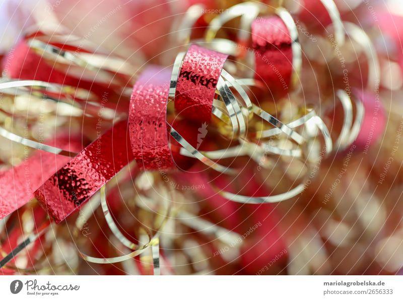 Christmas decoration /bunt rot-gold Dekoration & Verzierung Party Feste & Feiern Valentinstag Muttertag Weihnachten & Advent Silvester u. Neujahr Hochzeit