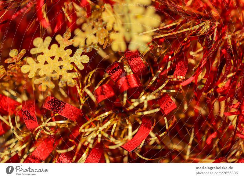 Christmas Schmuck / goldene Schneeflocke Party Feste & Feiern Valentinstag Karneval Weihnachten & Advent Silvester u. Neujahr Papier Dekoration & Verzierung