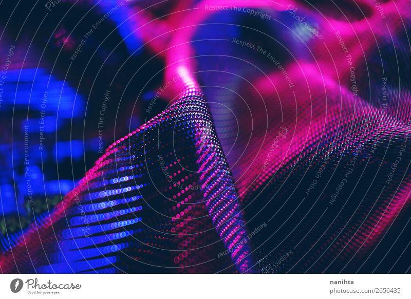 blau schön Blume dunkel schwarz klein rosa Design hell ästhetisch einfach Stoff Tiefenschärfe Tapete Material Oberfläche
