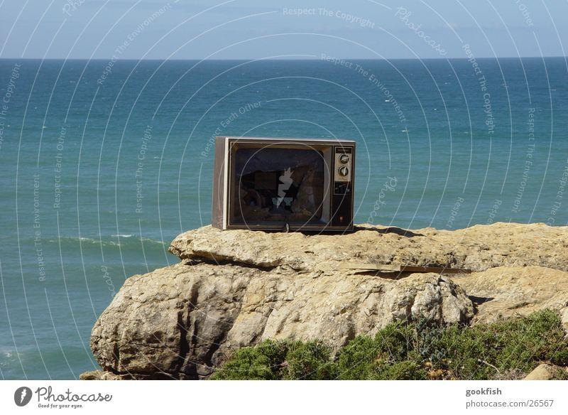 offroad TV Fernsehen Aussicht Durchblick Schifffahrt Sonne Wasser Berge u. Gebirge