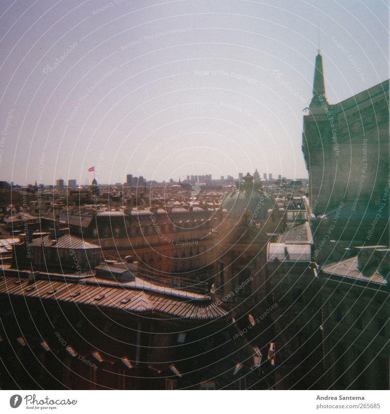 Paris Stadt Haus ruhig Architektur Gebäude träumen Stimmung Kirche Hochhaus Europa Bauwerk Burg oder Schloss Skyline Denkmal Wahrzeichen