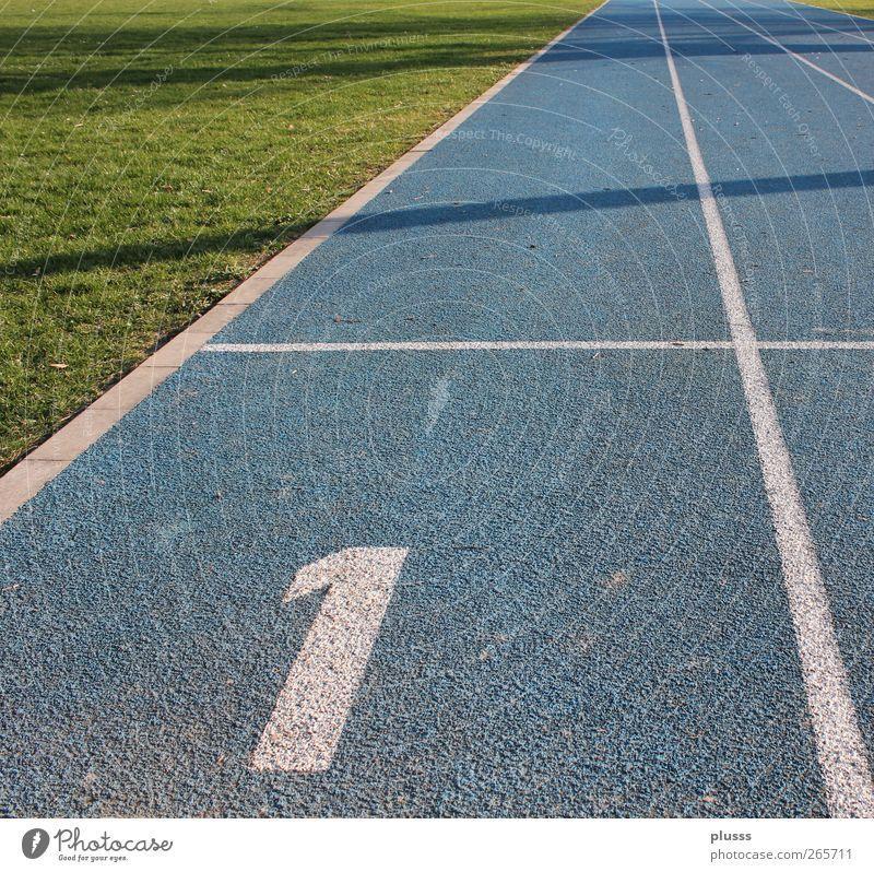 start & win blau grün Sport Bewegung springen Horizont Gesundheit laufen Erfolg Fitness rennen sportlich Sport-Training Sportveranstaltung Rennbahn fleißig