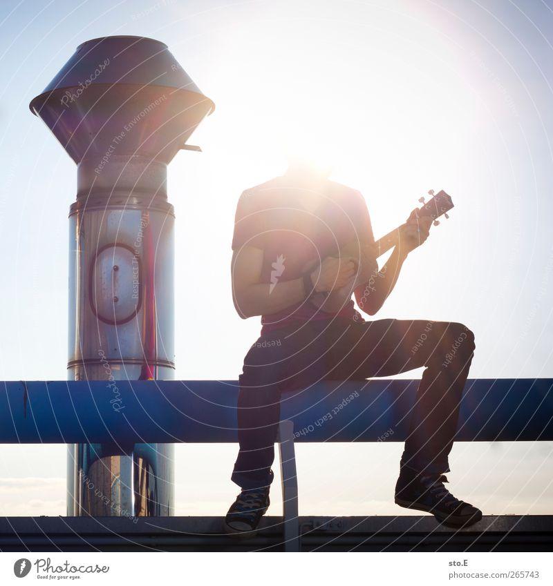 interpret unbekannt Mensch Sonne Sommer Freude ruhig Erholung Musik Zufriedenheit Tanzen Freizeit & Hobby maskulin Tourismus Lifestyle Coolness Kultur Konzert