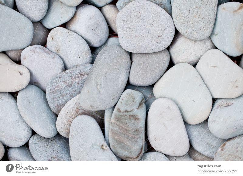 SANFT Wege & Pfade grau Stein Hintergrundbild rund weich sanft Kies hart Gartenbau Kieselsteine Kiesgrube Kiesbett Schotterweg Kieswerk Kiesberg