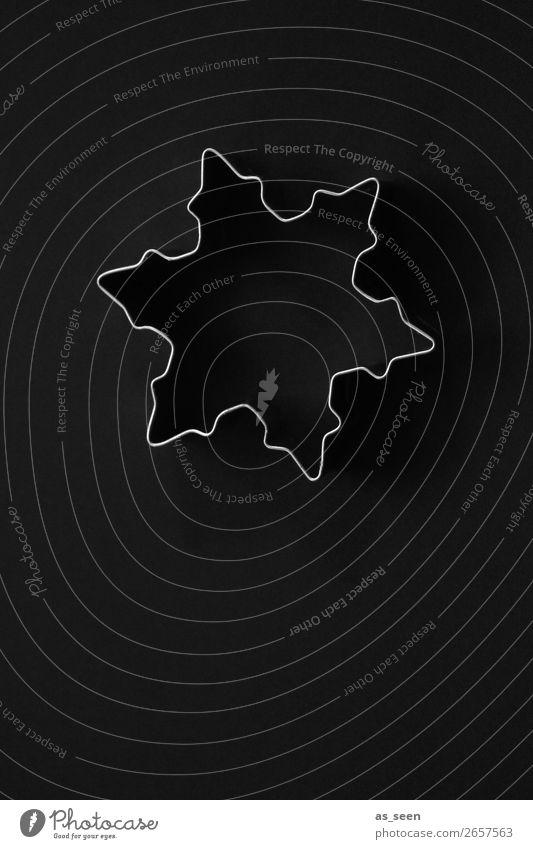 Dark Star Weihnachtsgebäck Plätzchen Ausstechform Lifestyle elegant Stil Design harmonisch ruhig Dekoration & Verzierung Küche Weihnachten & Advent Metall