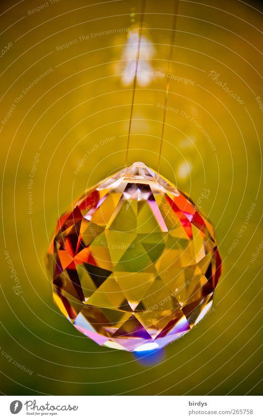 Blink...Blitz...Funkel... Glas glänzend elegant Design ästhetisch leuchten Dekoration & Verzierung Kitsch rein Reichtum positiv edel Lichtbrechung hängend