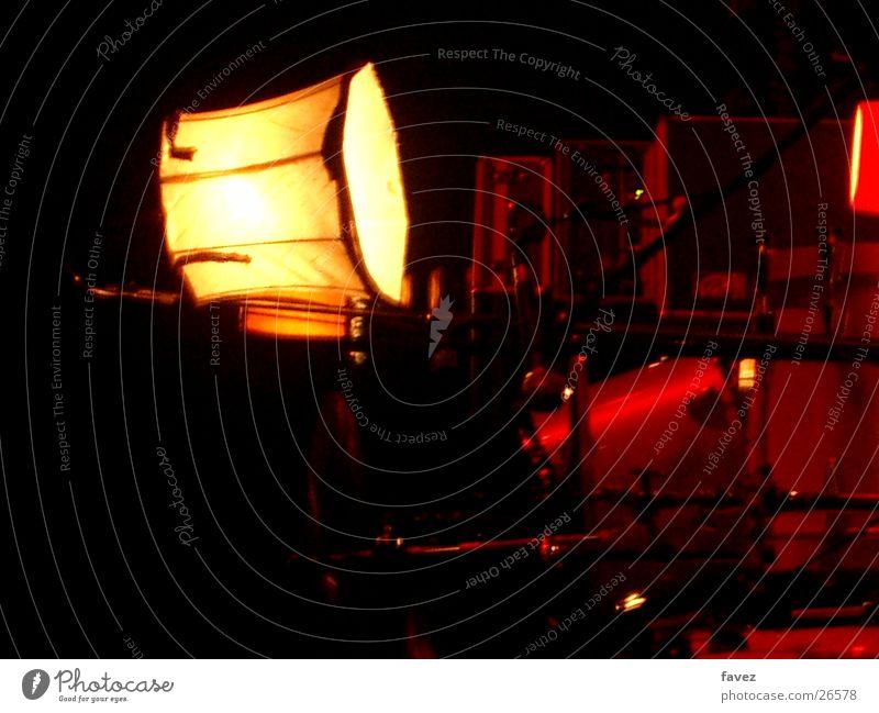 Nachttischlampe Kitsch