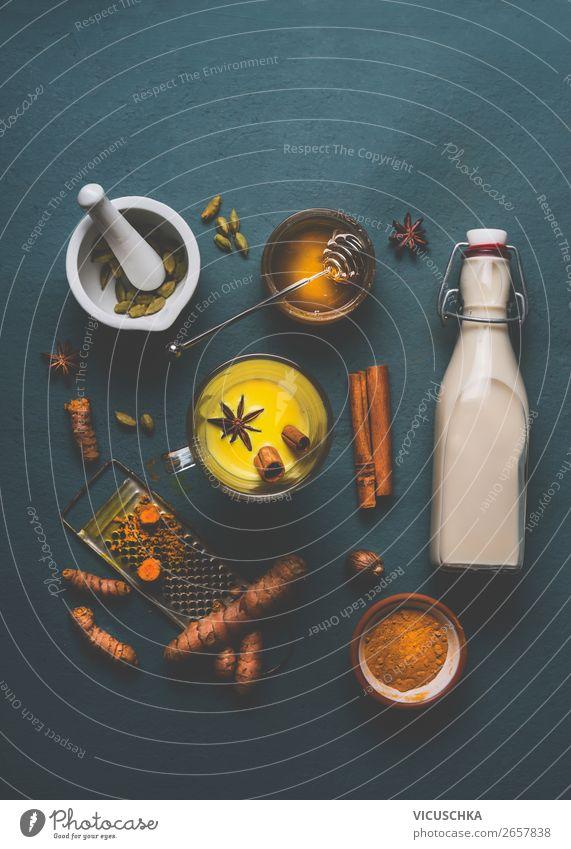 Kurkuma Milchgetränk Zutaten Lebensmittel Kräuter & Gewürze Ernährung Bioprodukte Vegetarische Ernährung Diät Getränk Heißgetränk Tee Stil Gesundheit