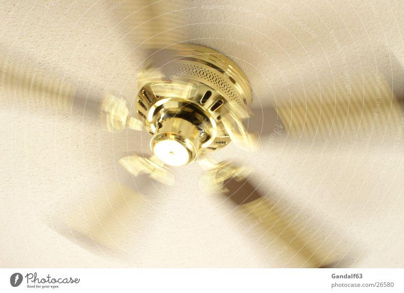 Ventilator drehen Geschwindigkeit Fototechnik Flügel Wind Luftbewegung