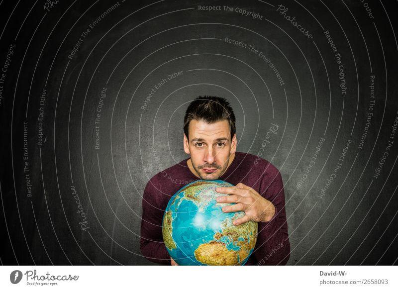 Welt II Lifestyle Leben Ferien & Urlaub & Reisen Tourismus Ausflug Abenteuer Ferne Städtereise Mensch maskulin Junger Mann Jugendliche Erwachsene 1 Kunst