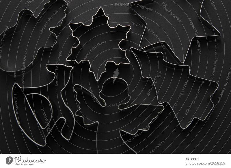 Black Bakery Ausstechform Stil Design harmonisch Sinnesorgane ruhig Küche Feste & Feiern Weihnachten & Advent Metall Schaukelpferd Engel Weihnachtsbaum