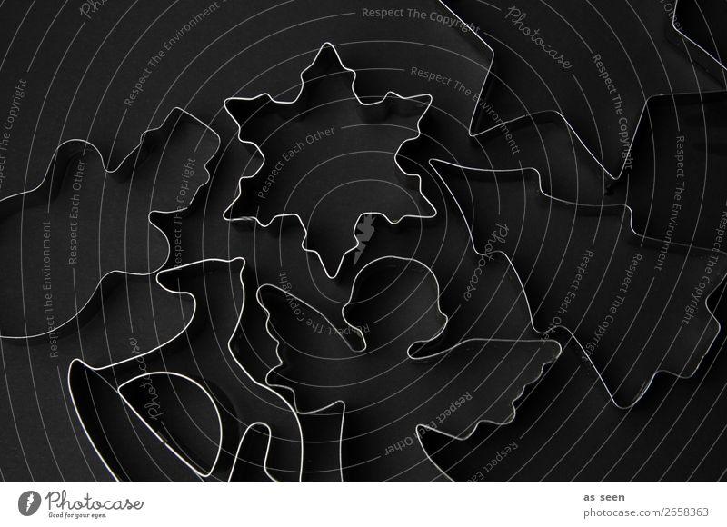 Black Secrets Weihnachtsgebäck Plätzchen Keks Ausstechform Lifestyle elegant Stil Design harmonisch ruhig Meditation Dekoration & Verzierung Küche