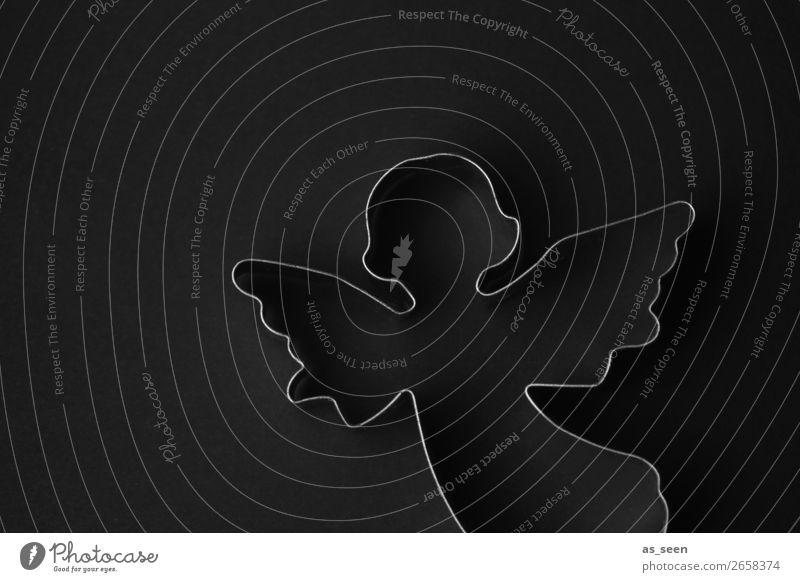Angel in the Dark Plätzchen Ausstechform Stil Design ruhig Feste & Feiern Weihnachten & Advent Körper Kopf Oberkörper Dekoration & Verzierung Metall Zeichen