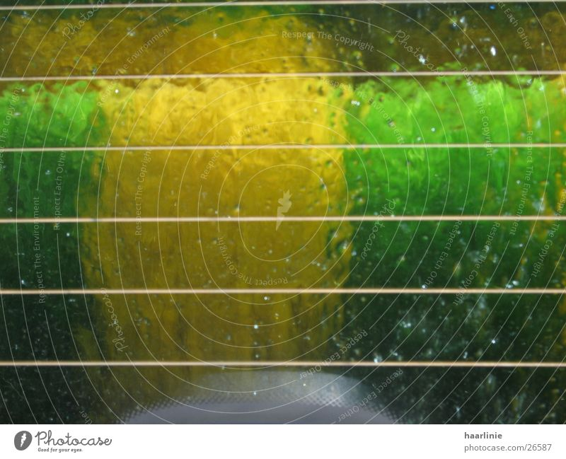in the carwash! Autowaschanlage Aktion Langeweile Lomografie waschstrasse im auto innen+aussen Wasser wischer andere persepektive Aussicht