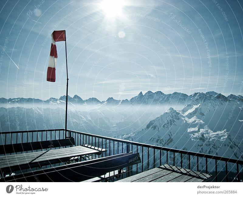 Total tote Hose Himmel Sonne Winter Freude Umwelt Landschaft Berge u. Gebirge Berlin Gefühle Glück Eis Zufriedenheit wandern Ausflug Tourismus Frost