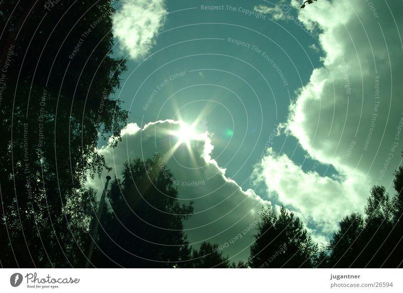 Sonne Wolken Finnland