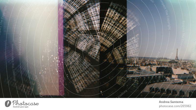 Paris Ferien & Urlaub & Reisen Stadt schön Sommer Haus Architektur Stil Tourismus elegant ästhetisch Ausflug Romantik Skyline Fernweh Wahrzeichen Duft