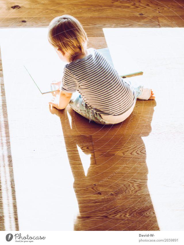 selbstbeschäftigung harmonisch Zufriedenheit ruhig Wohnung Kinderzimmer Kindererziehung Bildung Mensch Kleinkind Mädchen Kindheit Leben Kopf Finger 1 1-3 Jahre