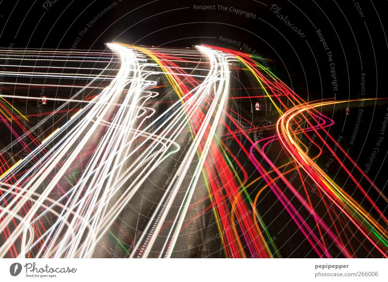 wohin? Straße Bewegung Verkehr fahren Güterverkehr & Logistik rennen Autobahn Verkehrswege Fahrzeug Autofahren Personenverkehr Straßenverkehr Berufsverkehr
