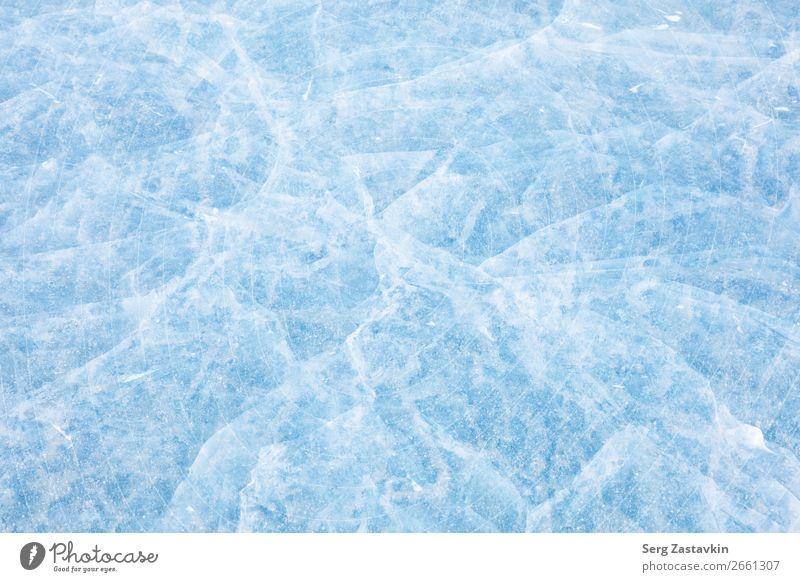 Baikal Eisstruktur Winter Natur See dick hell lustig natürlich Sauberkeit blau weiß Farbe rein Arktis Hintergrund Baikalsee übersichtlich kalt Riss